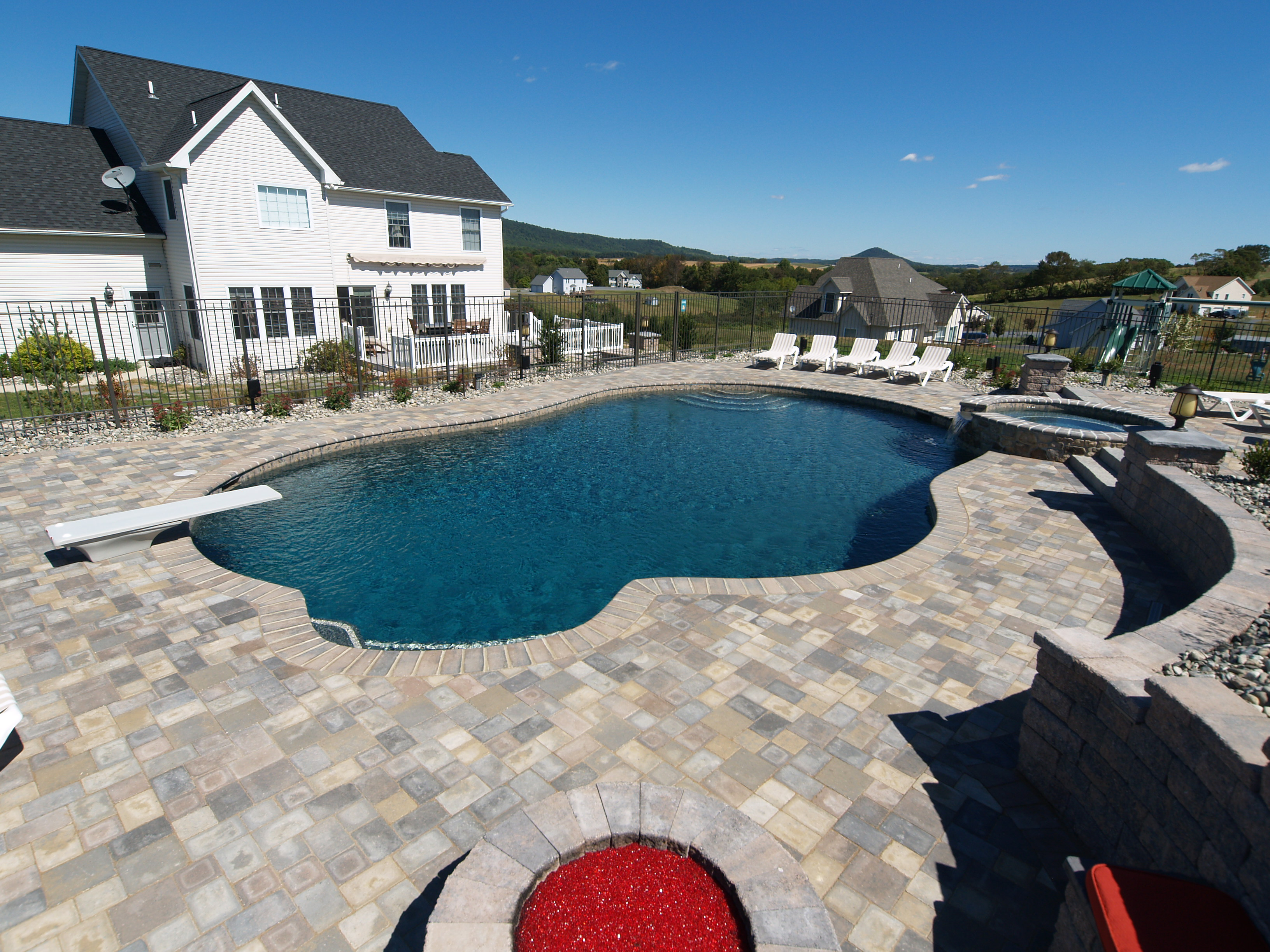 Gunite Pools Amp Pool Builders Swimming Pool Design