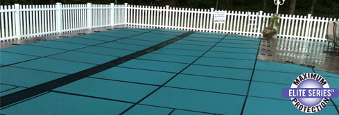 hyperlitebanner safety pool cover from Fronheiser Pools
