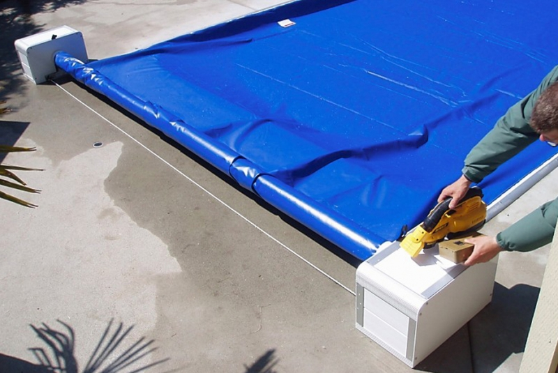 poolcovering installation