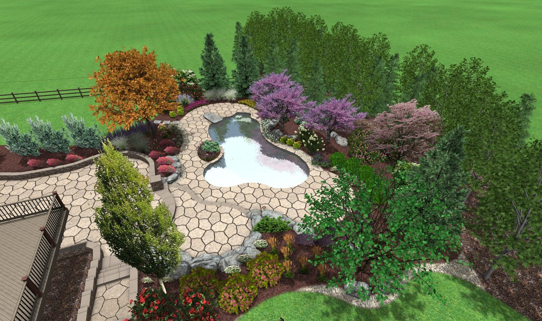 3d pool design | custom deck & landscape designs | fronheiser pools