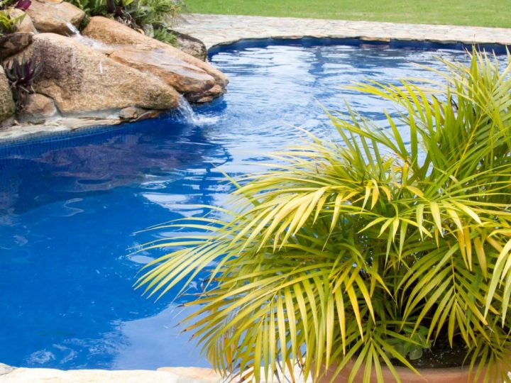 Make Use of Potted Plants in Pool Landscaping
