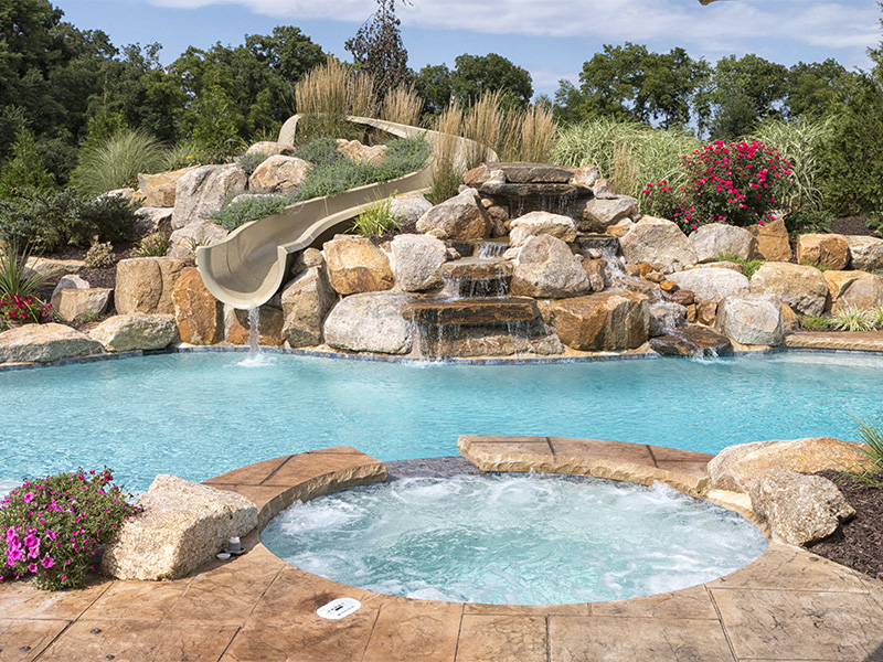 Create your own water park fronheiser pools for Create your own pool