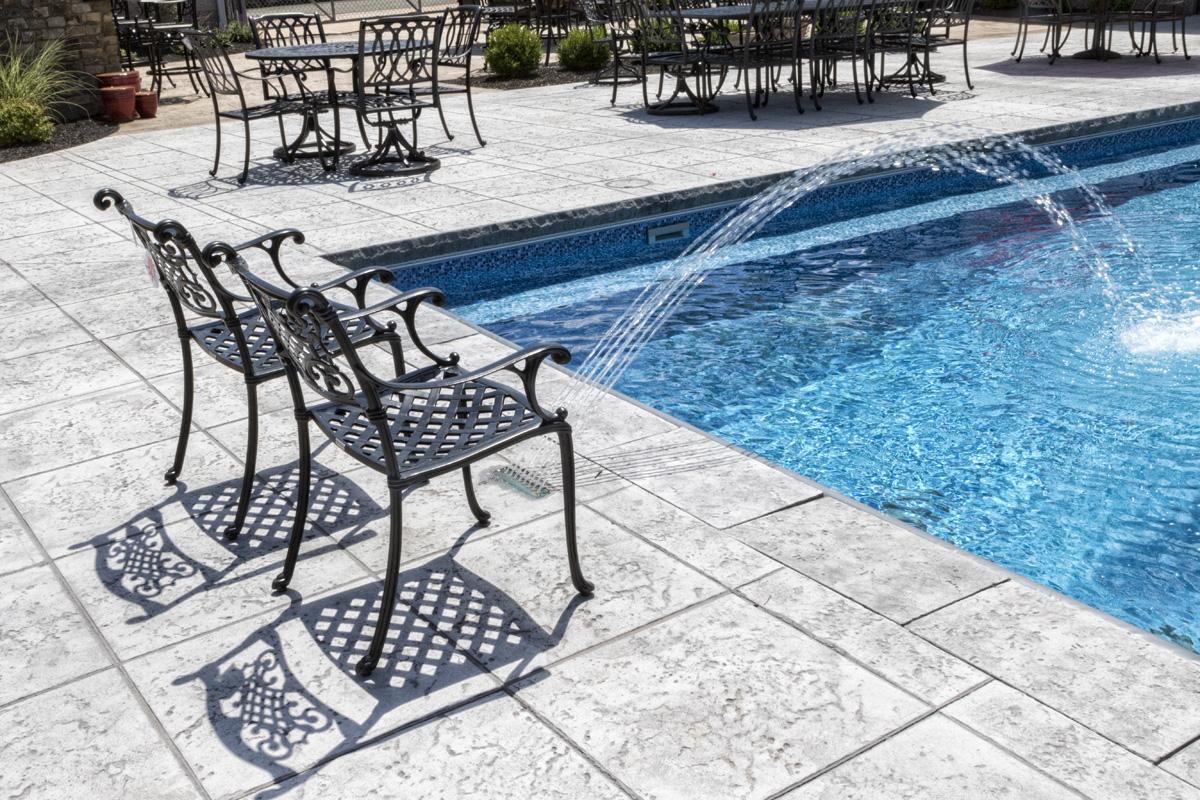 Pool showroom fronheiser pools for Pool showrooms