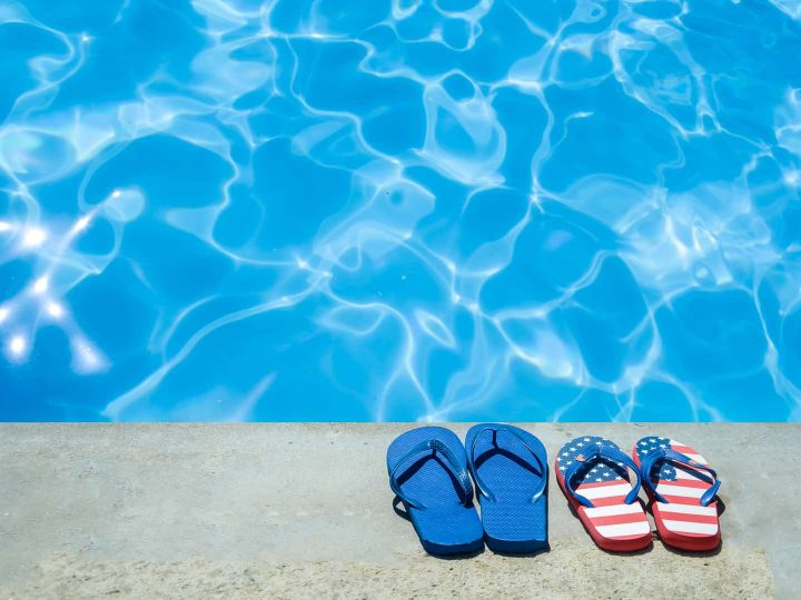 Backyard pool party ideas to celebrate the 4th of July