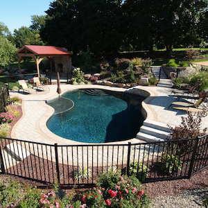 Gunite Pool Design Natural Finish
