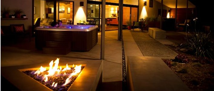 Mood Lighting - One of the Elements of a Perfect Hot Tub Date