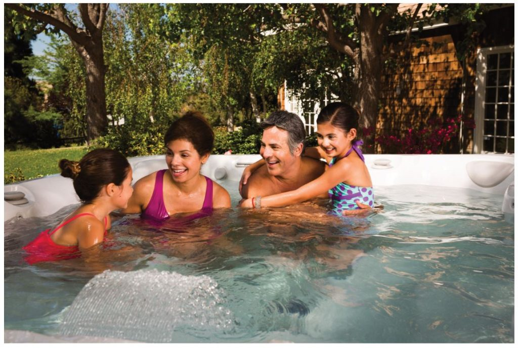 The Whole Family Loves Playing Hot Tub Games